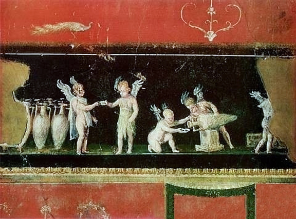 Pompei Wine fresco